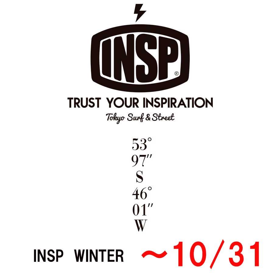 INSP 冬物カタログ ご注文お待ちしています。