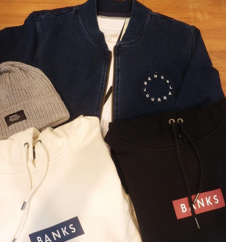 BANKS 2017秋冬入荷!
