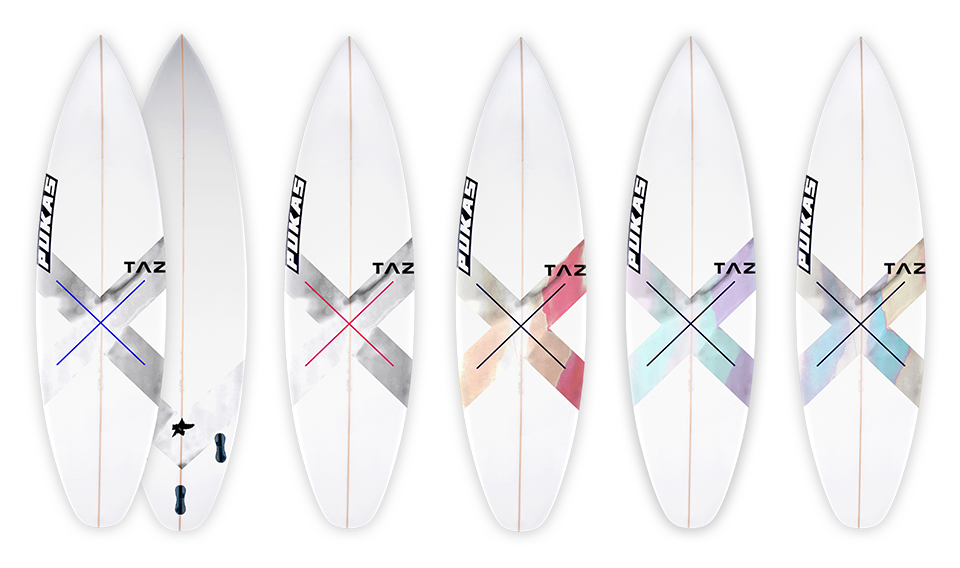 Pukas-Surf-Surboards-TAZ-X-Board-Colors
