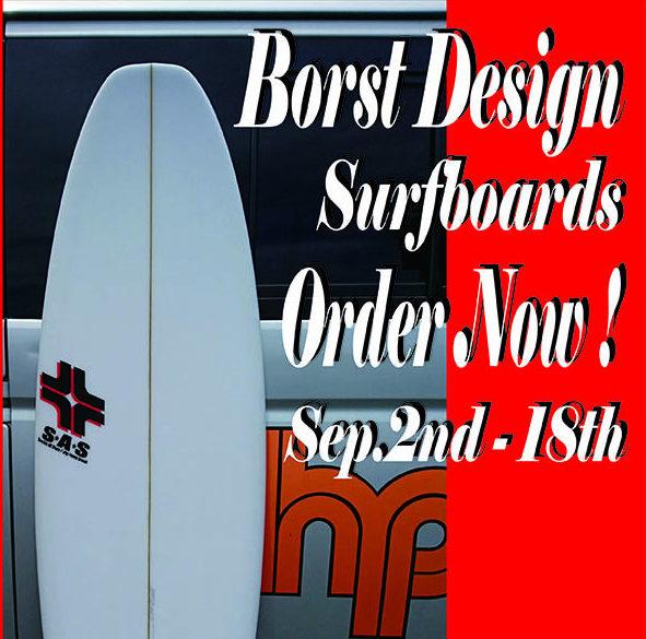 BORST Design サーフボード OrderNow