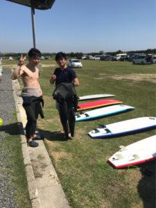 サーフィンに行こう~~~~~  20180428