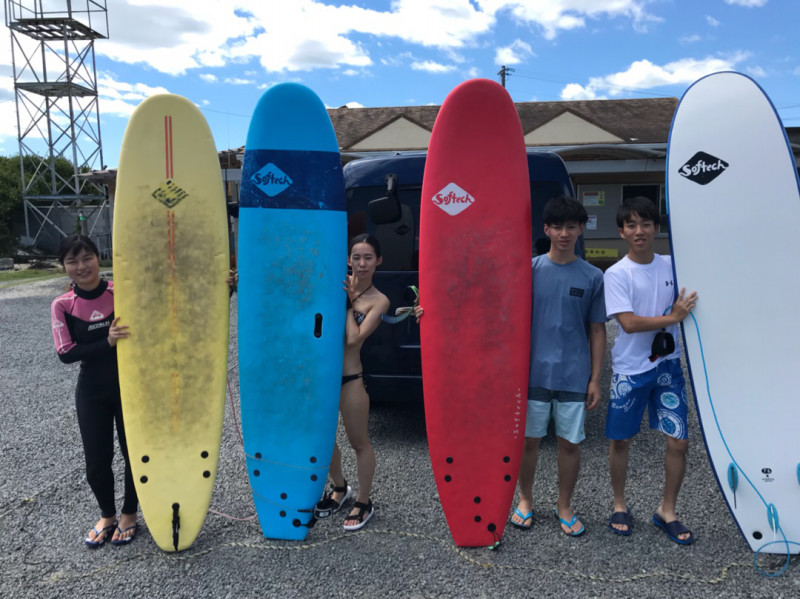 サーフィンに行こう~~ サーフィン体験スクール 20180809