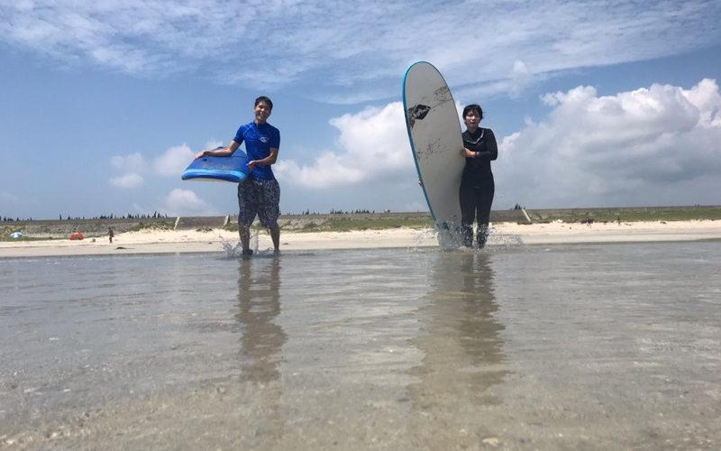 サーフィンに行こう〜〜 20190730 姉弟~~ サーフィン 体験 スクール