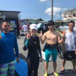 サーフィンに行こう〜〜 20190804 人がいっぱい。サーフィン 体験 スクール