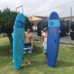 サーフィンに行こう~~   20190806 台風明けの波。スクール サーフィン 体験
