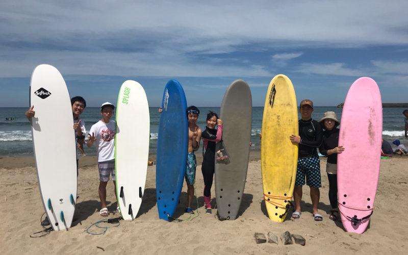 サーフィンに行こう~~   20190812 日本海~~day2 体験スクール surfing