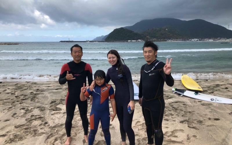 サーフィンに行こう~~ 20191022 大阪旅行ついでにサーフィン。体験スクール プライベート 貸し切り