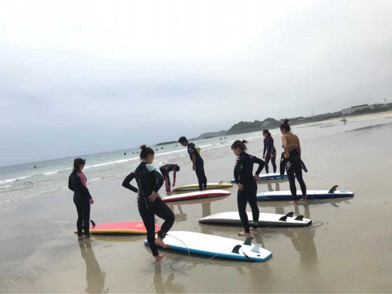 サーフィンに行こう~~  サーフィン体験スクール 20180701