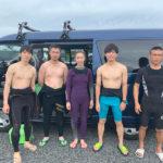 サーフィンに行こう〜〜 20190721 スクール卒業生も通ってくれてます。お一人参加歓迎。