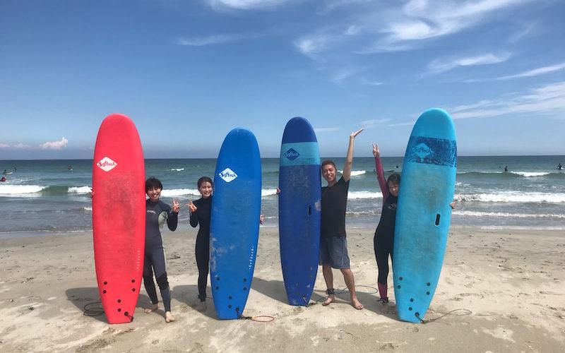 サーフィンに行こう~~~  20190826 サーフィンスクール 体験