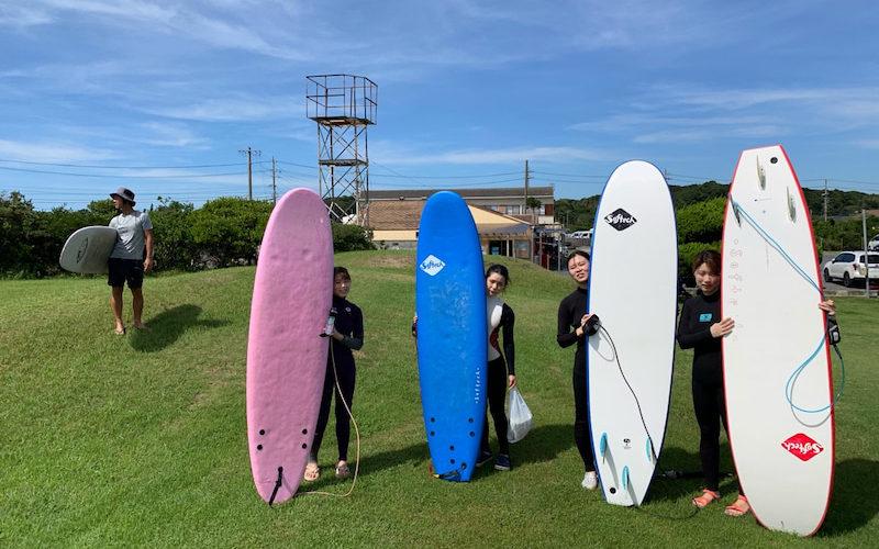 サーフィンに行こう~~~  20190909 ええ波でした。 体験 スクール サーフィン