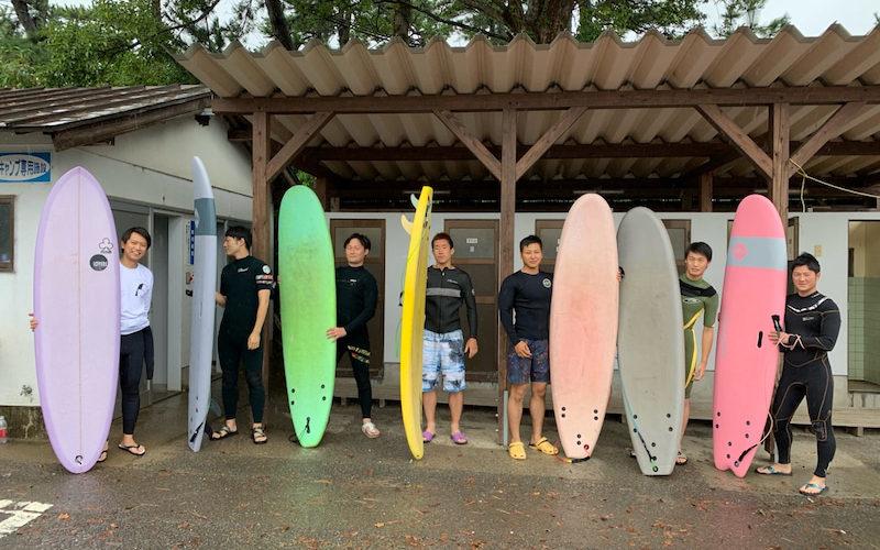 サーフィンに行こう~~ 20190921 男塾!サーフィン 体験 スクール