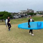 サーフィンに行こう~~  20191103  今年4回目?サーフィンスクール