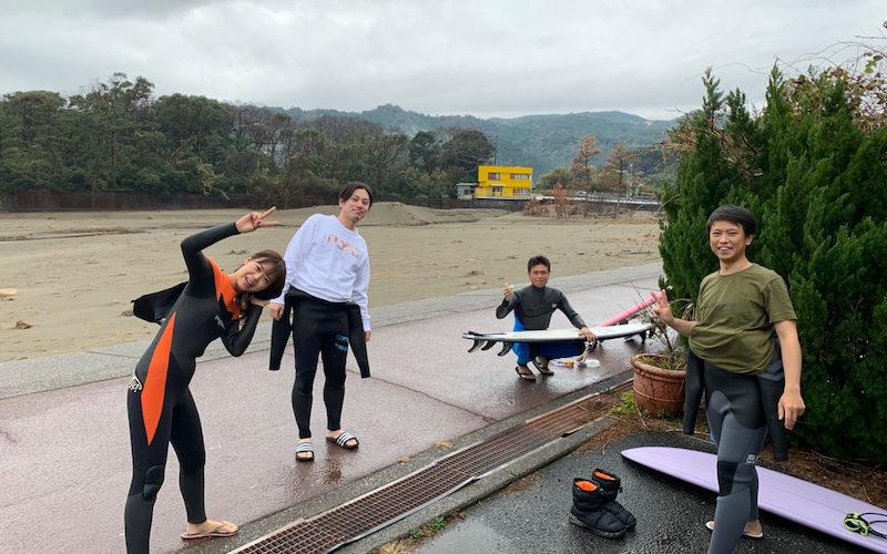 サーフィンに行こう〜〜   20200112 サーフィンスクール 初心者スクール