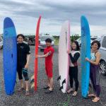 サーフィンに行こう~~ 20200712 体験サーフィン 初心者サーフィンスクール