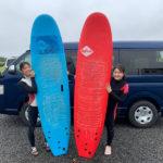 サーフィンに行こう~~ 20200717 シッカリめの1ラウンドからおかげ横丁観光 サーフィンスクール