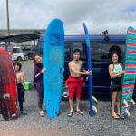 サーフィンに行こう~~  20200718 ニューメンバー募集中!サーフィンスクール