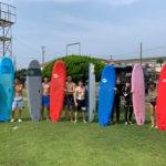 サーフィンに行こう〜〜  20200808 お盆の始まり…サーフィンスクール 初心者 体験スクール