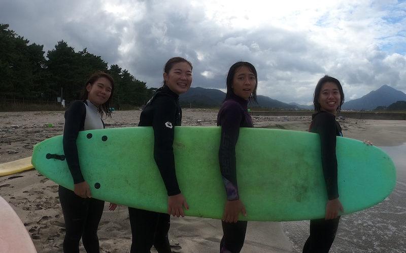 サーフィンに行こう~~~  20201011 大阪サーフィンスクール サーフィンスクール大阪 リピーター