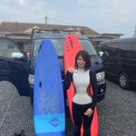 サーフィンに行こう~~  20191027 大先輩のご紹介 サーフィンスクール