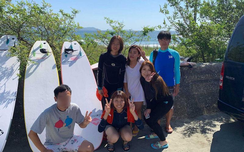 サーフィンに行こう~~   20190915  がんばったね!なんば発 サーフィンスクール