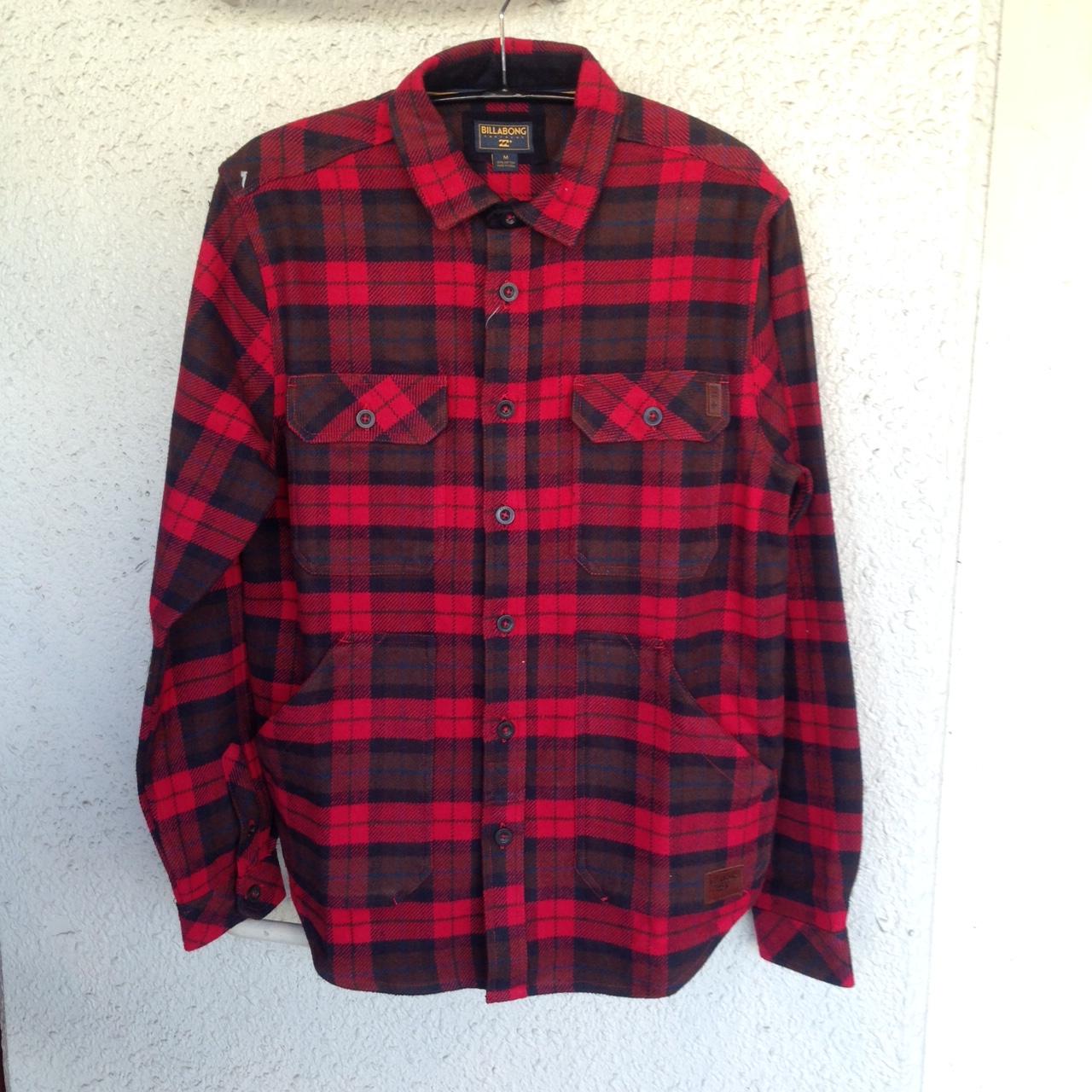 BILLABONGからフランネルシャツ ジャケット
