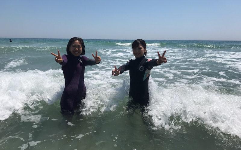 サーフィンに行こう~~  最近はリピーターが多いです。20190525