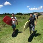 サーフィンに行こう~~ サーフィン体験スクール 20180721