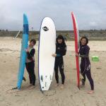サーフィンに行こう~~ 20190629 東京からのお客様も 体験 サーフィン スクール