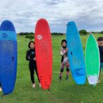 サーフィンに行こう~~  20200715 小波でも楽しく~  サーフインスクール