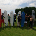 サーフィンに行こう~~  20200723 男だけ~~。サーフィンスクール
