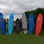 サーフィンに行こう~~ 20200726 サーフィンスクール 初心者体験