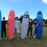 サーフィンに行こう〜〜  20200812 国際色豊か。初心者体験 サーフィンスクール 大阪