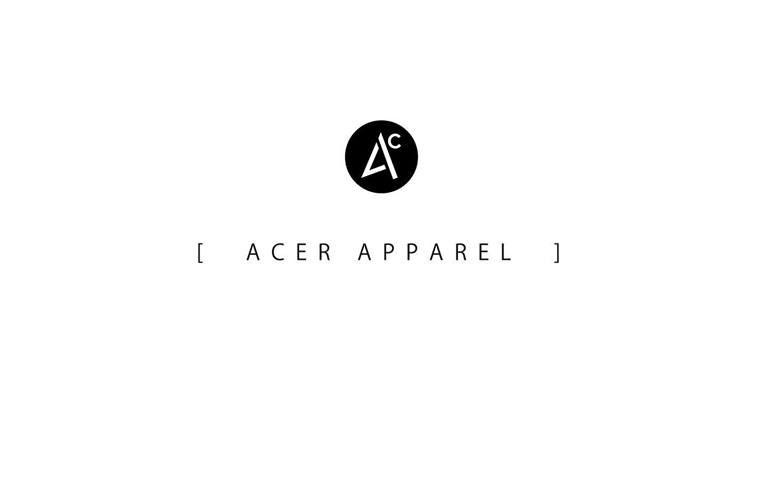 ACER-apparel  秋冬物が発表!